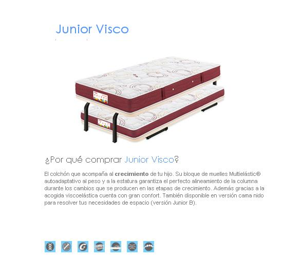 COLCHON FLEX JUNIOR VISCO