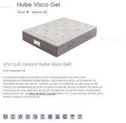 COLCHON FLEX NUBE VISCO GEL