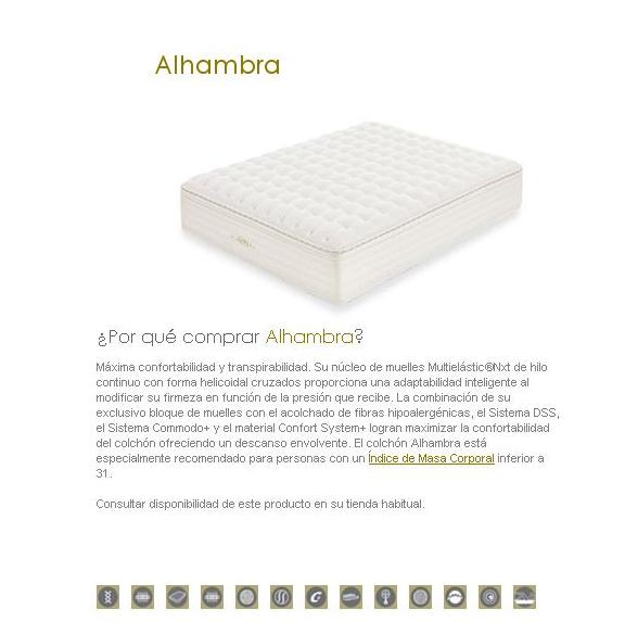 COLCHON FLEX ALHAMBRA
