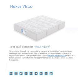 COLCHON FLEX NEXUS VISCO