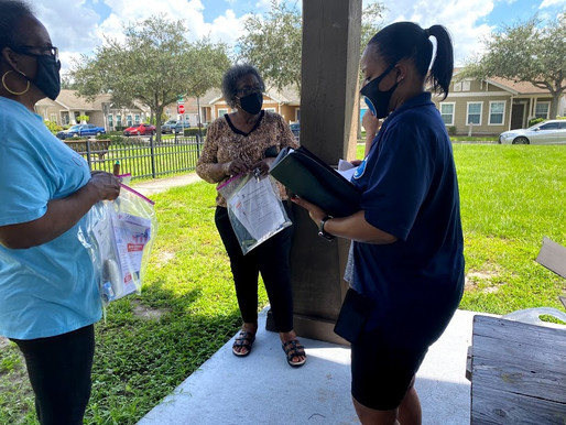 Covid Relief Grocery Give away for Seniors 55+
