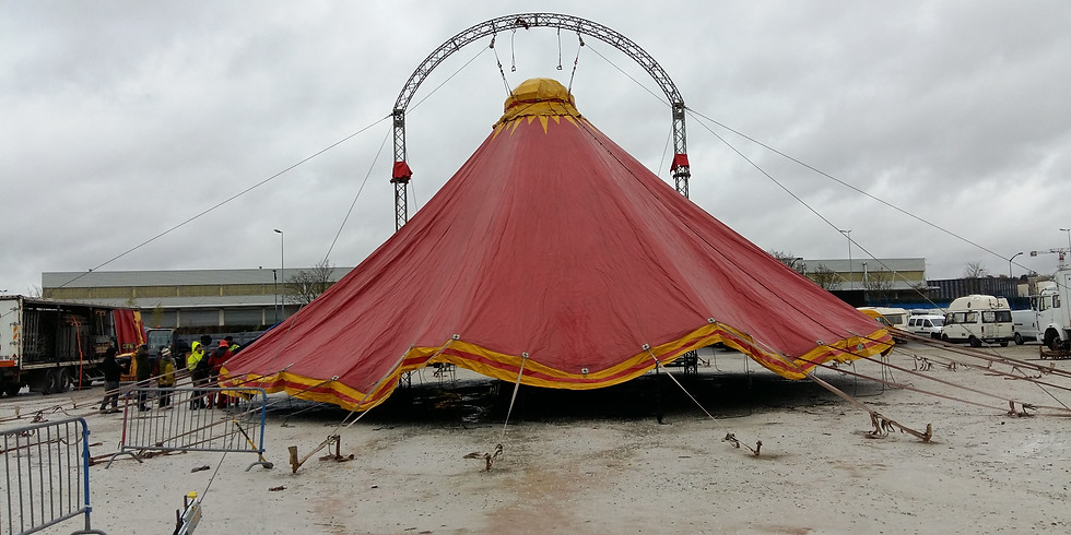 Formation Structures : Structures temporaires de cirque