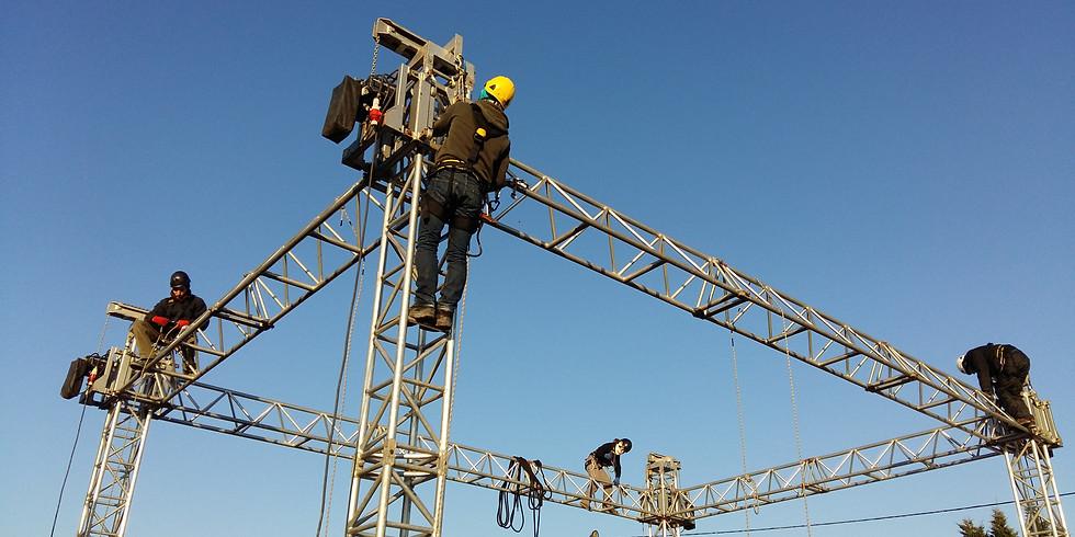 Travail en hauteur sur cordes - Niveau 1
