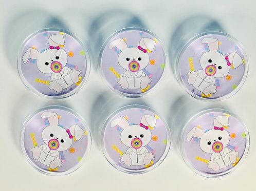 1 Sugar Bunny Button