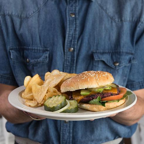 Best veggie burger in Albuquerque