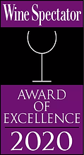 Wine Spectator magazine Award of Excellence