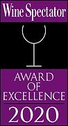 Wine Spectator magazine Award of Excellence