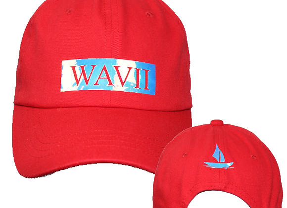Reflective Dad Hat (Red)