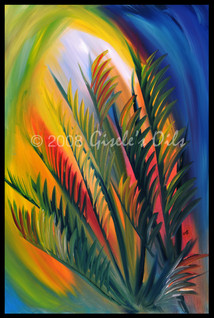 "TITLE ""AFTERNOON GLOW"" SIZE 24 inches wide by 36 inches tall DATE 2008 MEDIUM Winsor & Newton Oil paints CANVAS Fredrix 100% Cotton Artist Canvas"