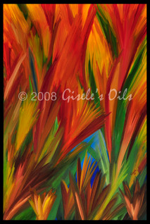 """TITLE """"FANTASY"""" SIZE 24 inches wide by 36 inches tall DATE 2008 MEDIUM Winsor & Newton Oil paints CANVAS Fredrix 100% Cotton Artist Canvas"""
