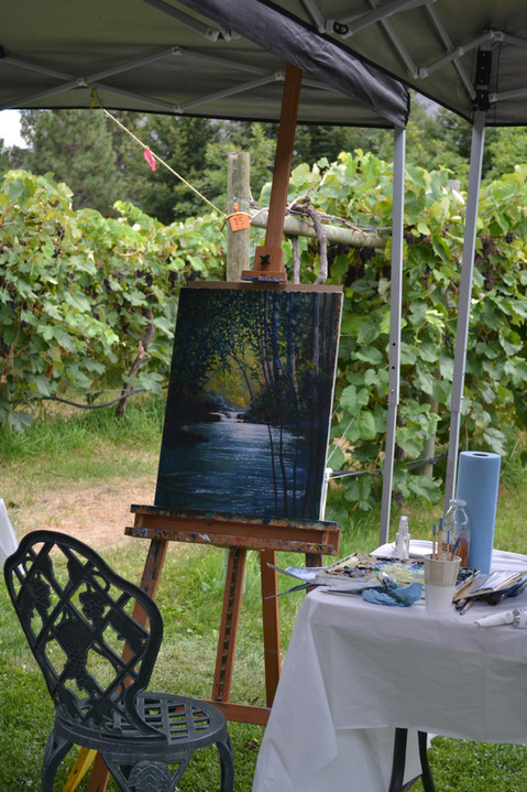 An Artist's work
