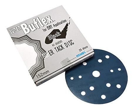 "6"" Dry Super Buflex Discs K-3000/2000"