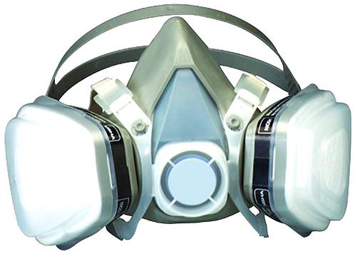 3M Dual Cartridge Respirator Mask