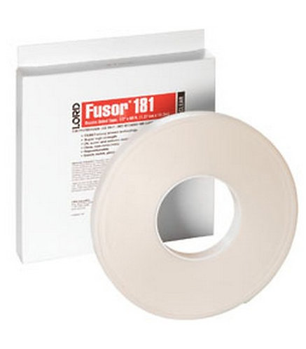 """LORD Fusor 181 Double-Sided Tape 1/2"""" x 60ft x .045"""""""