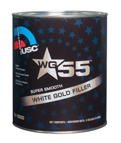USC wg55 White Gold Premium Body Filler