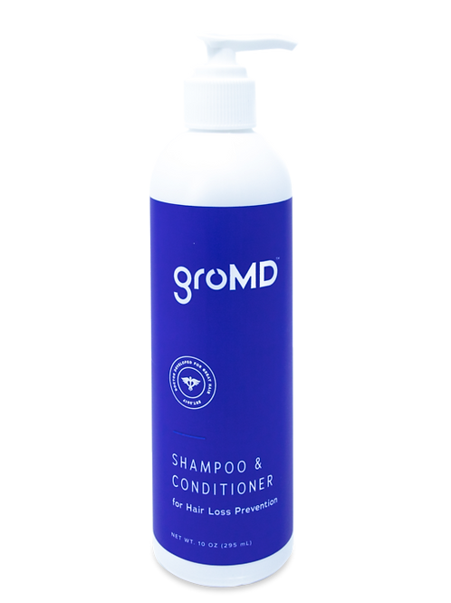 Shampoo + Conditioner for Hair Loss Prevention