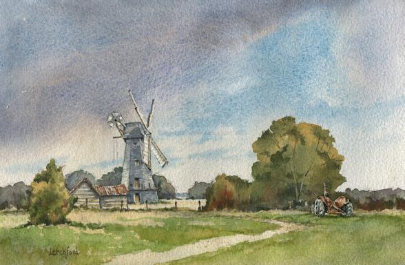 Stelling Minnis windmill, Kent