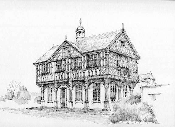 Old market Hall, Leominster