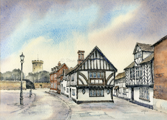Castle Lane, Warwick