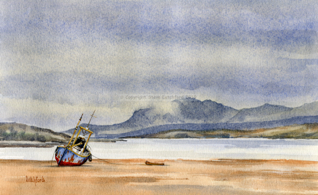 Isle of Arran from Bute