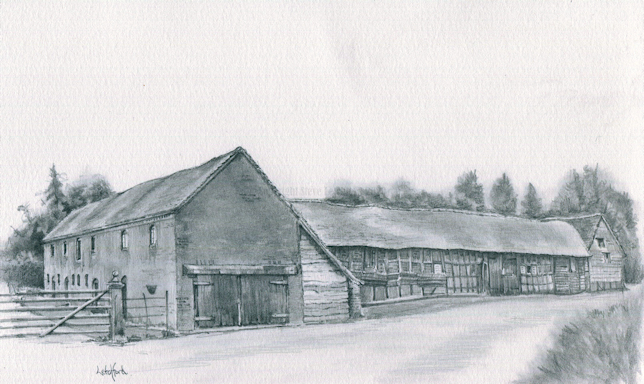 Barns and Granary at Wichenford Court