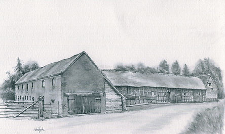Barns and Granary at Wichenford Court.j