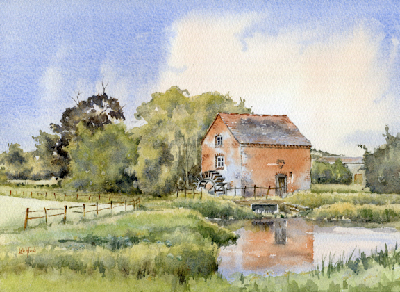 Watermill at Hartperry