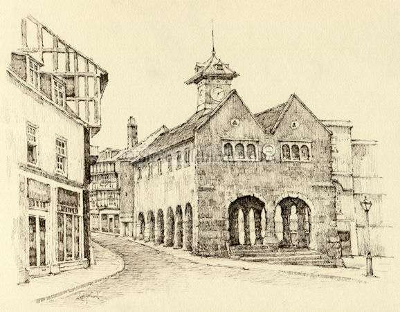 Market Hall Ross on Wye