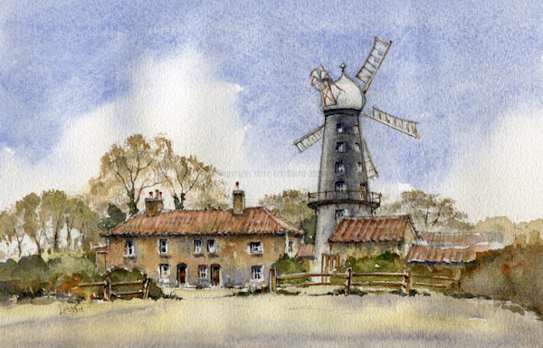 5 bladed mill, Alford Lincs