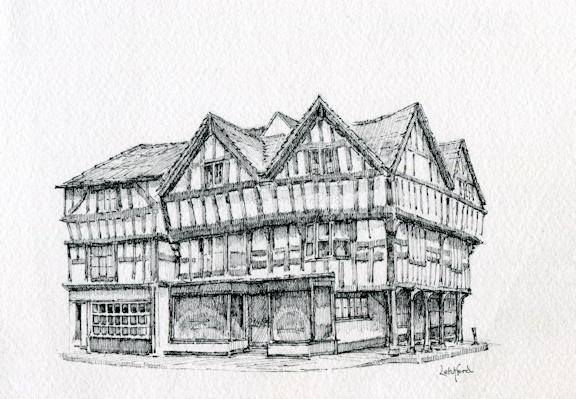 Corner in Ledbury