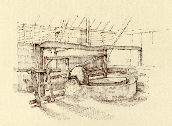 Cider Press- Leigh Old Barn