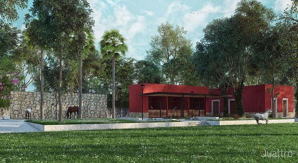 Proyecto: H. Ponce Arquitectos /  Visualización Arquitectónica: FQuattro