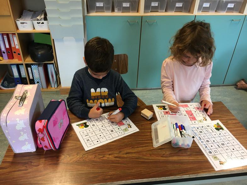 Premières activités en première année primaire