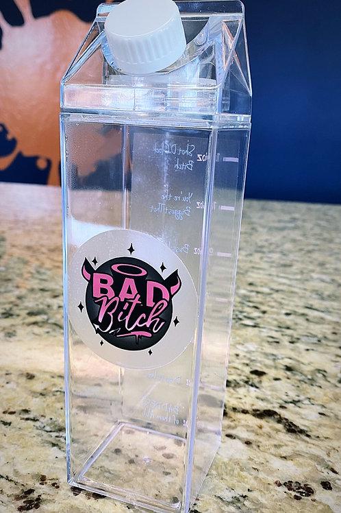 Bad Girl Booze Bottle
