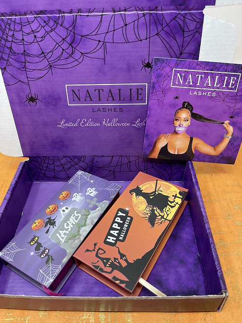 The Halloween collection box