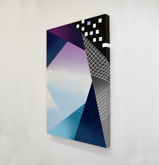 "Laura Sellers Harrison, ""Atmospheric I"", 24""x36', 2019"