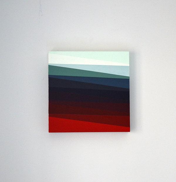 Laura Sellers Harrison, Slow Melt, Acryl
