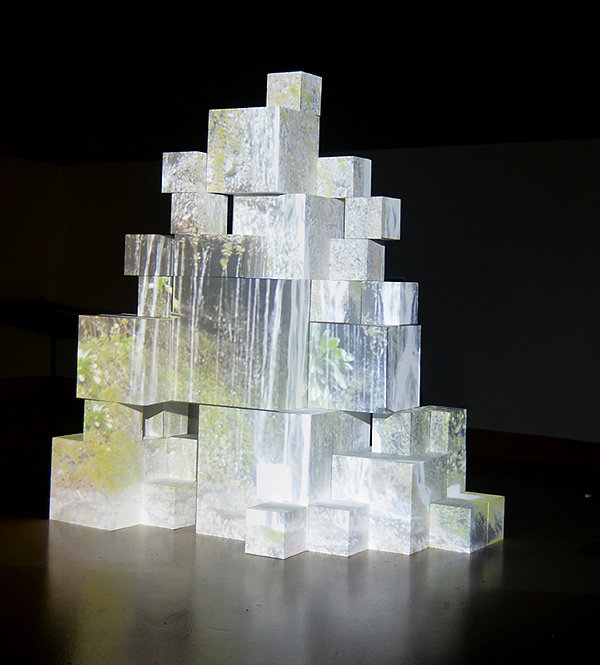 13 Inverted Waterfall Cubed Laura Seller