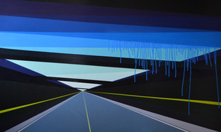 Laura Sellers Harrison, Highwayscape #22, 2017