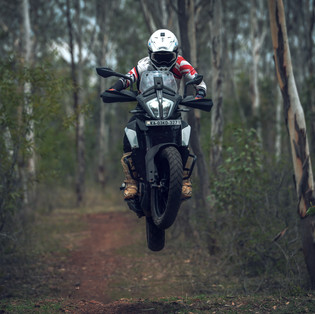 Nilesh Dhumal showing what a Ktm Adventure 390 is capable of.