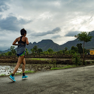 First Monsoon Marathon at Prabalgad marks the begining of the Monsoon Marathon series by Run Buddies.