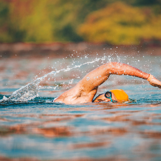 Open water sea swim makes the Goa Triathlon one of the most thrillling events for a tri-athlete.