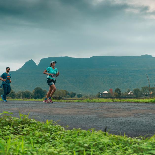 First Monsoon Marathon at Prabalgad marks the begining of the Monsoon Marathon series by Run Buddies.