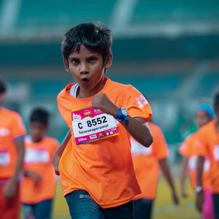 The most energy filled marathon in the country, Kidathon Chennai.