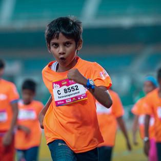 The most energy filled marathon in the country, Kidathon Chennai.