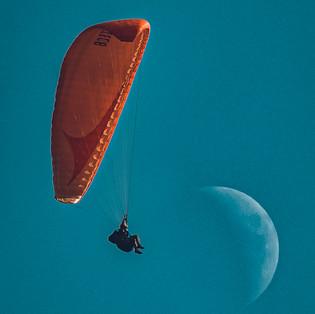 Moon landing.