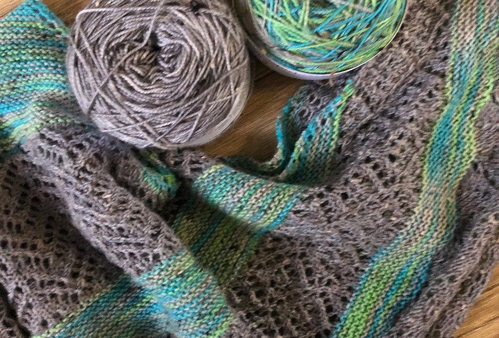 Linwood  Knitted Shawl Set