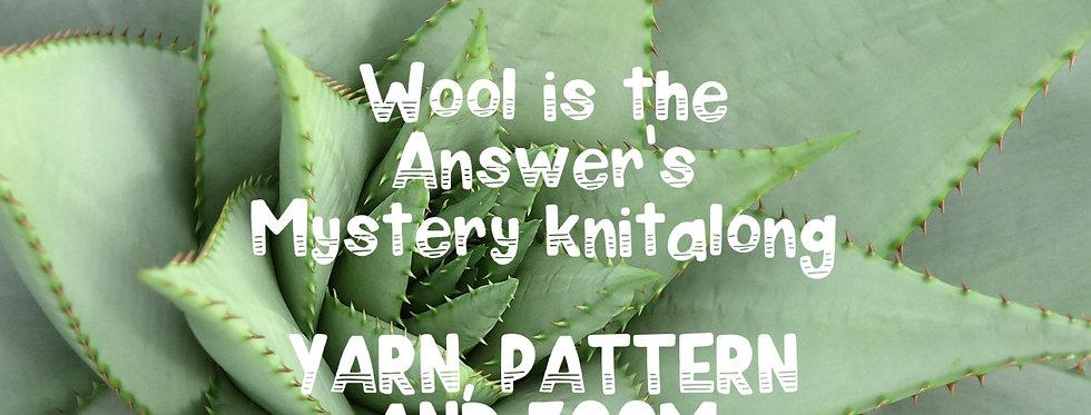 Mystery Knitalong The On Point Scarf: Yarn, Pattern and Zoom Knitalong