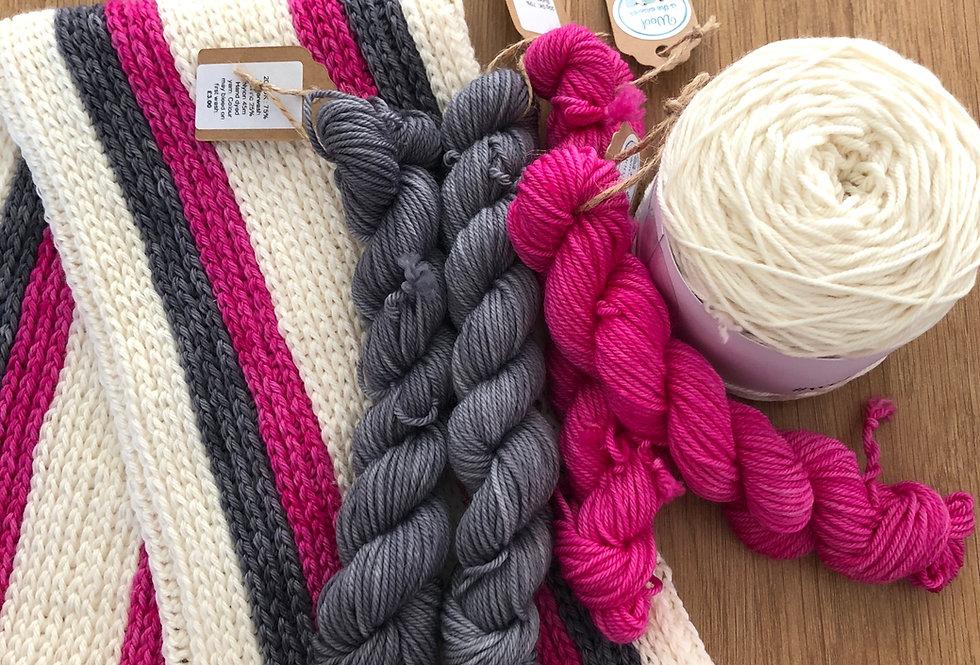 Wolds Crochet Shawl Set