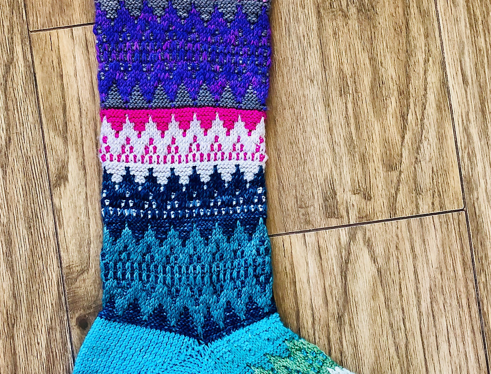 Christmas Stocking Set with Pattern